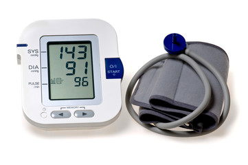Tonometer - Automatic digital blood pressure monitor