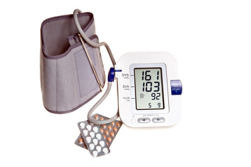 Blood Pressure tester and pils
