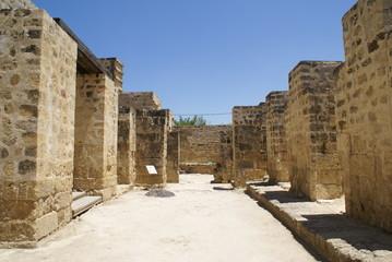 ruined walls of medina azahara,cordoba, spain