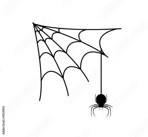 Toile d 39 araign e fichier vectoriel libre de droits sur la banque d 39 images image - Toile d araignee en papier ...