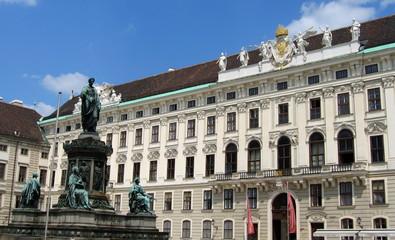 cour principale de la hofburg