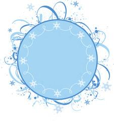 Winter design ornament
