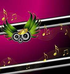 Musical Illustration Banner Design