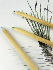 Aquarellstifte, malen, zeichnen