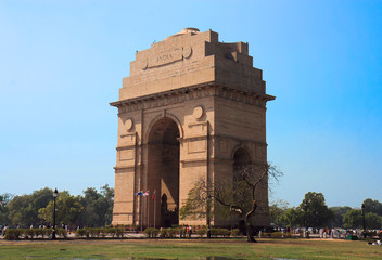 India Gate at New Delhi, India