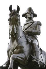 statue of George Washington at the Boston Public Garden