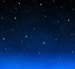 nice bright stars in the night sky