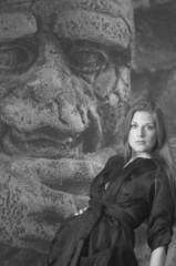 beautiful women photographed in a studio setting