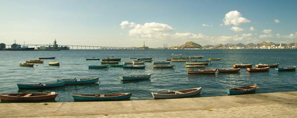 Fishing boats in Rio de Janeiro