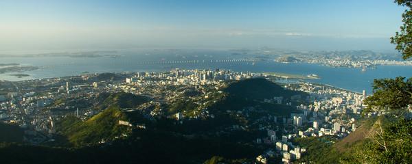 Distant view of Rio de Janeiro