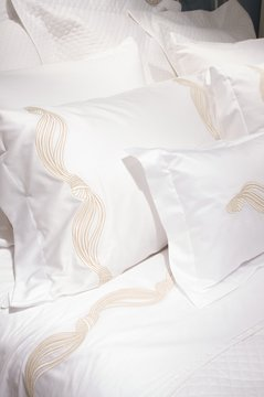 luxury upscale bedding and linens