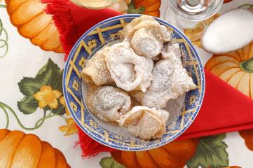 Ravioli con ripieno di castagne - Dolci Emilia Romagna