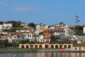 Paignton Houses Across Water
