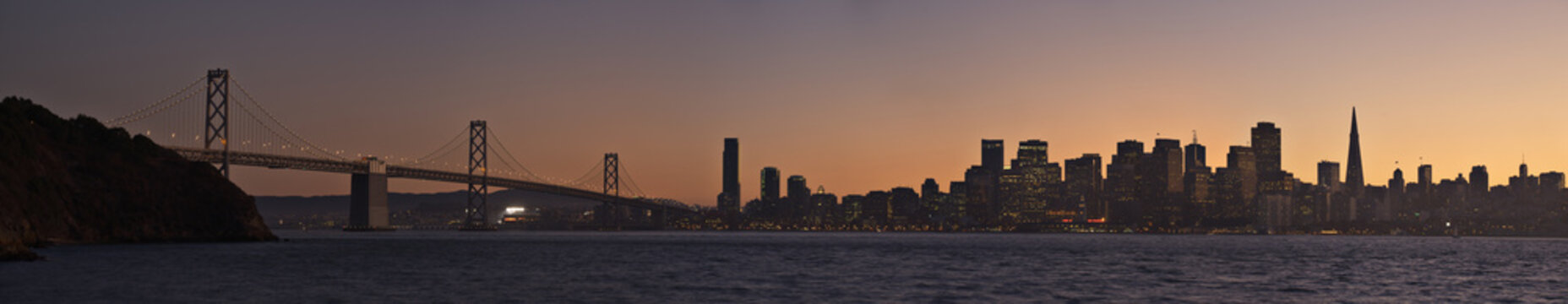 San Francisco panoramic photo