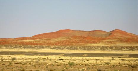dunes de sable (Namib)