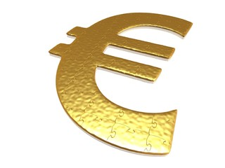 Golden euro puzzle