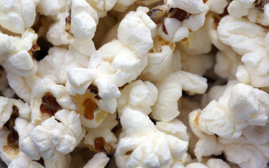 popcorn closeup background