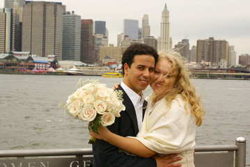 Just married couple in NY