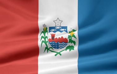 Flagge von Alagoas - Brasilien