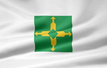 Flagge von Distrito Federal - Brasilien