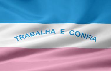 Flage von Espirito Santo - Brasilien