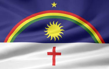 Flagge von Pernambuco - Brasilien