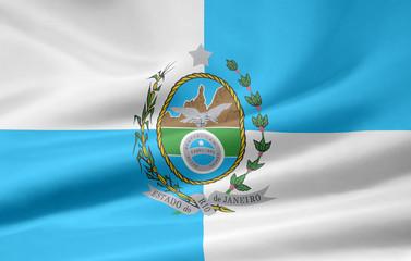 Flagge von Rio de Janeiro -  Brasilien