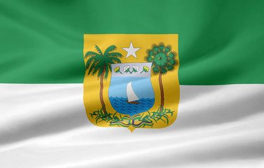 Flagge von Rio Grande do Norte - Brasilien