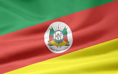 Flagge von Rio Grande do Sul -  Brasilien
