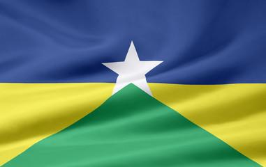 Flagge von Rondonia - Brasilien
