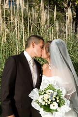 les mariés photos jardin