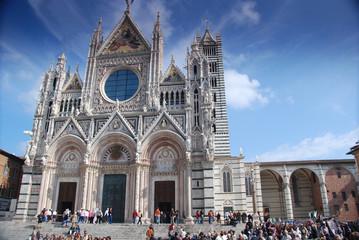 Siena, Fassade des Doms Santa Maria Assunta