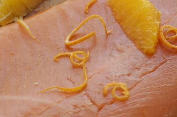 Trota salmonata agli agrumi - Secondi di pesce Trentino A A