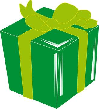 cadeau vert