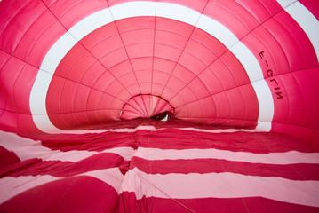interieur de montgolfière