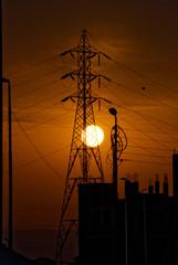 power plant mast