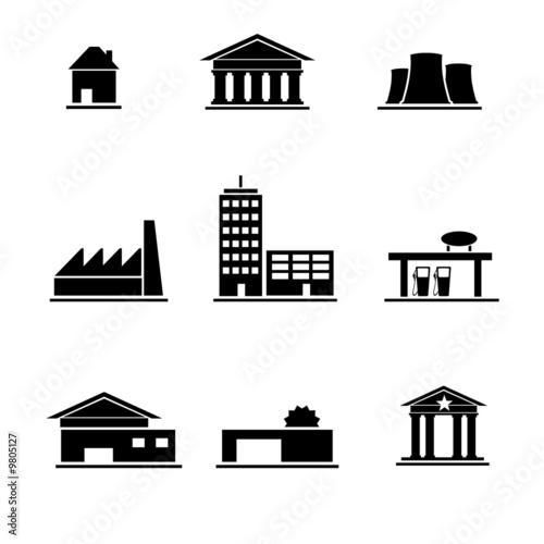 u0026quot pictogramme edifice et infrastructure u0026quot  photo libre de droits sur la banque d u0026 39 images fotolia com