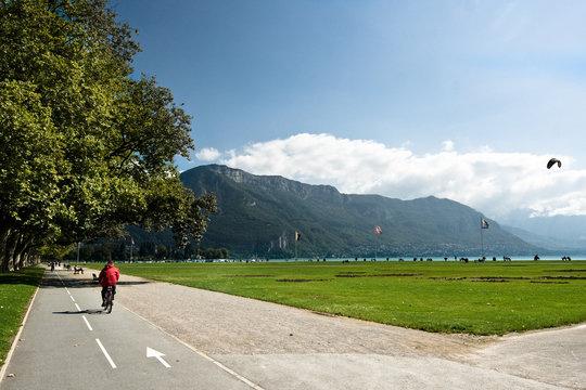 Parc à Annecy