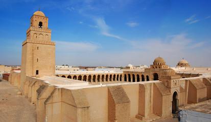 Foto auf Gartenposter Tunesien Great Mosque of Kairouan, Tunisia, africa