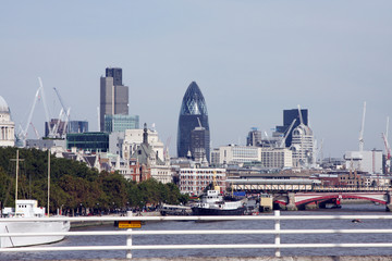 A photography of the big London city