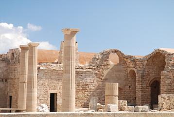 tempio e colonne