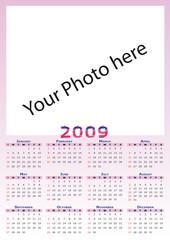 2009 Calendar. Put your own pics
