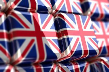 Union Jack-Cube