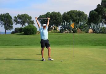 Golf - Erfolg, Sieg, Gewinn