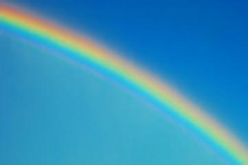 A shot of a rainbow - but no pots of gold