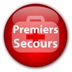 """Bouton """"Premiers Secours"""""""