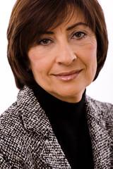 Portrait of senior executive businesswoman,