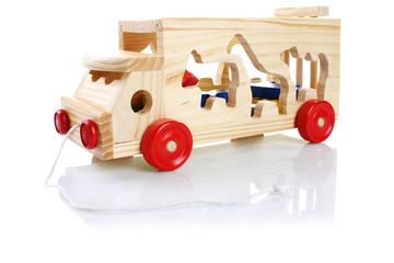holzauto, kinderspielzeug