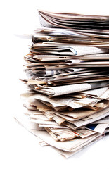 The heap of Newspapers - 3