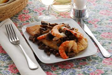 Pesci persici con il ragottino - Secondi - Ricette Lombardia